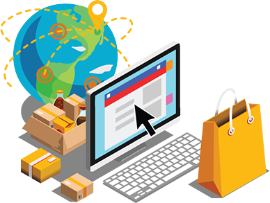 process 2 - In The Market - Register and start online ecommerce business