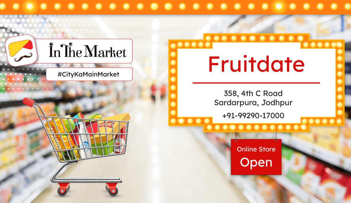 fruitedate grocery store 1 - In The Market - Register and start online ecommerce business
