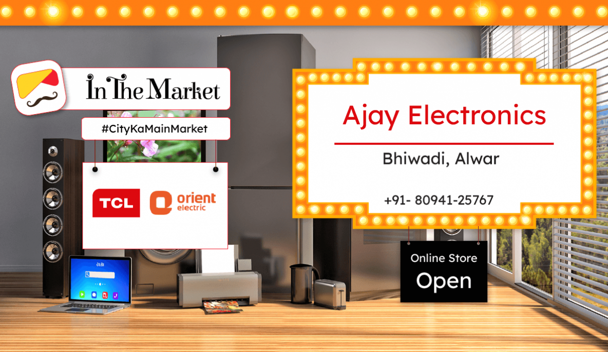 cropped Ajay Electronics - In The Market - Register and start online ecommerce business